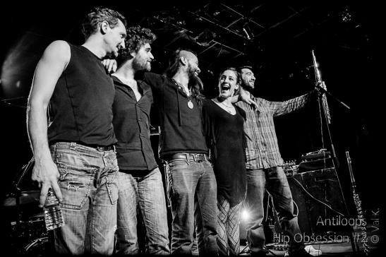 Antiloops : Hip Opsession #2 , le Pannonica, Nantes, le 7 mars 2014
